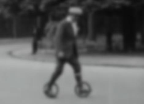 Vintage Rollerblading