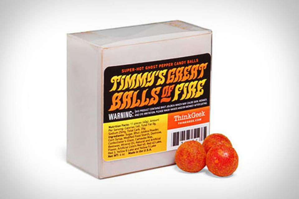Ghost Pepper Candy Balls