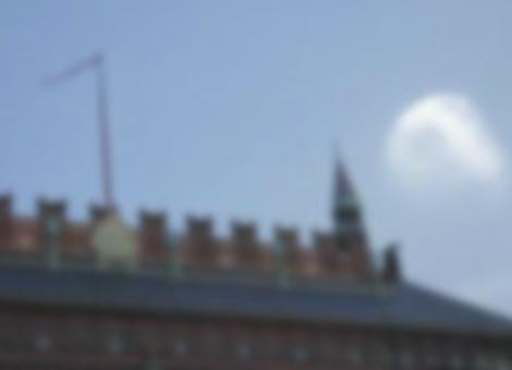Death Star Over Copenhagen