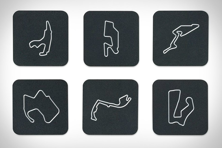 Race Track Coasters