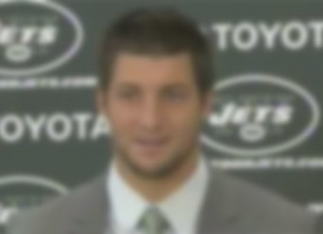 Tim Tebow Is Excited