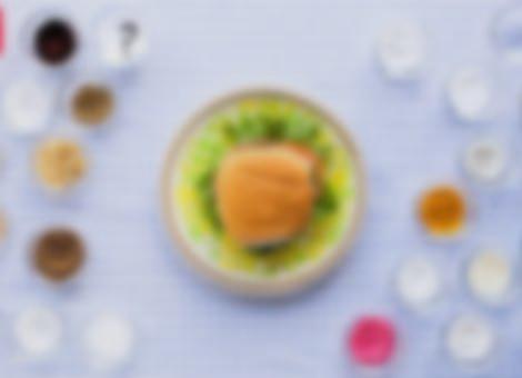 The 26-Ingredient School Lunch Burger