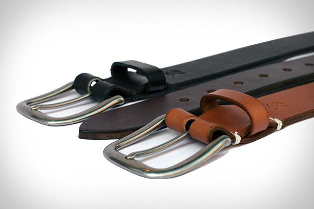 3sixteen Heavyweight Stitched Belts