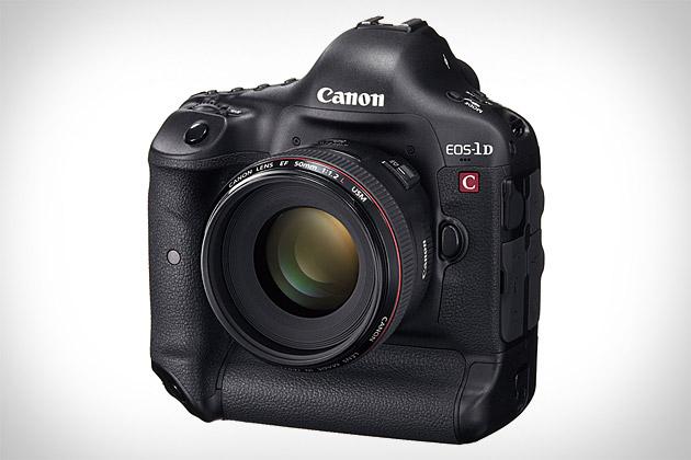 Canon EOS-1D C Cinema Camera