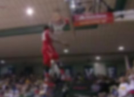 James Justice Wins College Dunk Contest