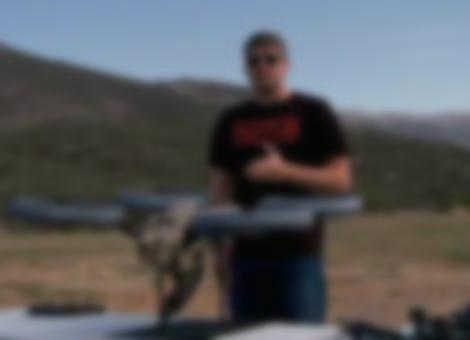Quadrotor Machine Gun