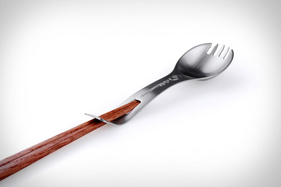 Titanium Kung Foon Spork