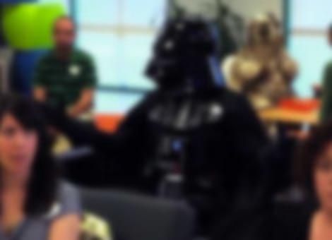 Brainstorming with Darth Vader