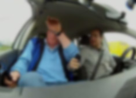 Impossible Texting While Driving Test