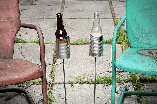 Hobo Tin Can Beer Holders