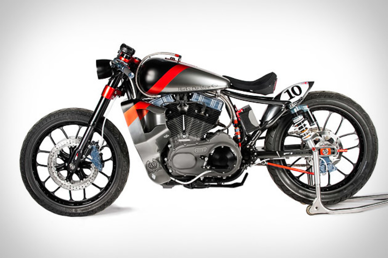 Shaw F1-XLR Harley Nightster Motorcycle