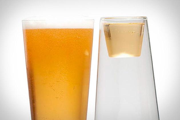 Beer Shot Light Glass