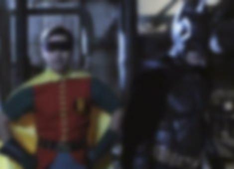 The Dark Knight & 60's Robin