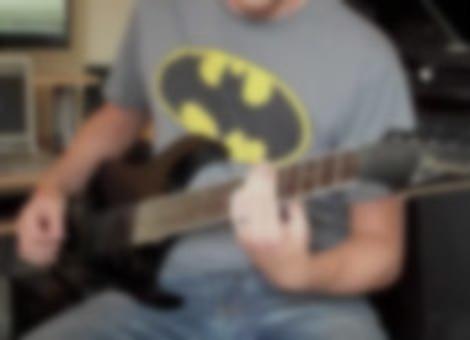 Metal Batman Cover
