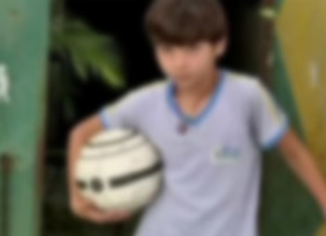 Footless 11-Year-Old Soccer Player