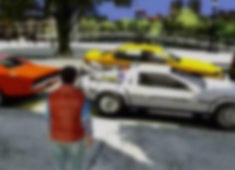 Grand Theft Auto Back to the Future Mod