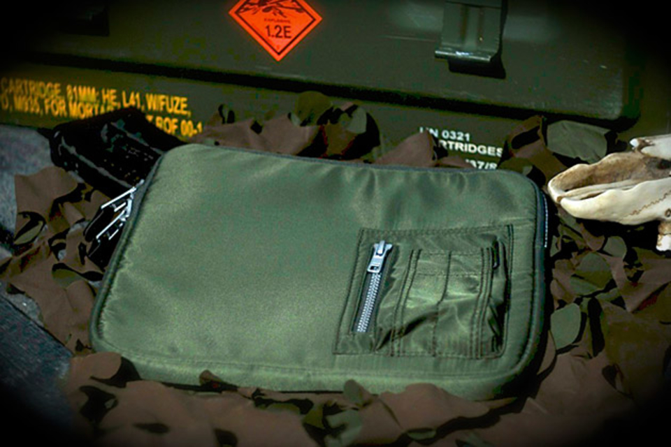 Meshmedium MA-1 Bomber iPad Sleeve