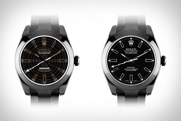 Bamford Rolex Milgauss Watches