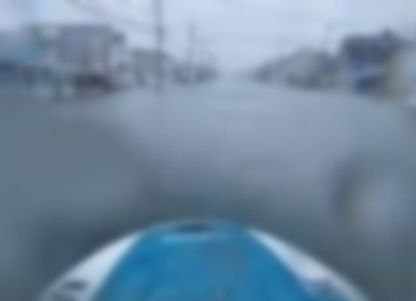 Hurricane Sandy Jet Ski