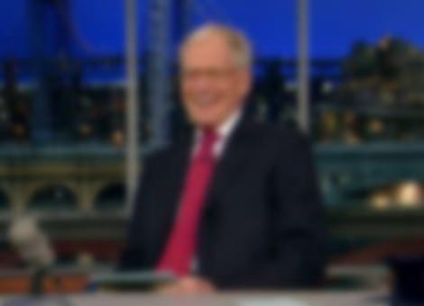 Letterman Does Show Despite Hurricane