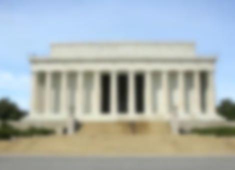 Empty Washington, D.C.