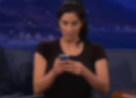Sarah Silverman's Dirty iPhone Trick