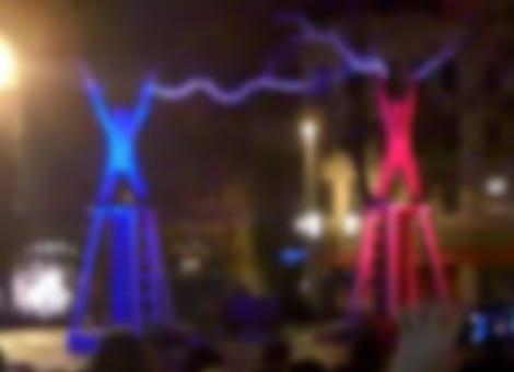 Tesla Coil Street Performance