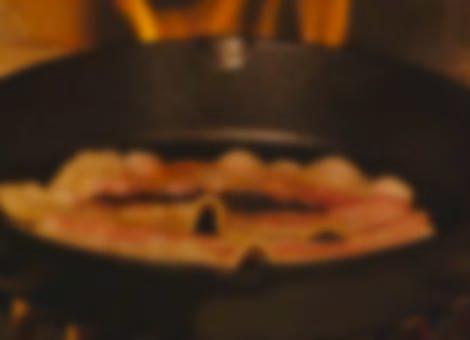 Bacon Yule Log
