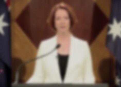 Julia Gillard Addresses End of World