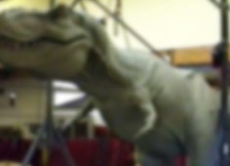 Making The Jurassic Park T-Rex