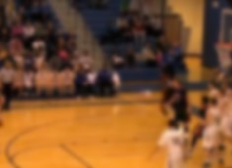One-Handed High School Basketball Player