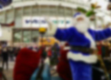 West Jet Christmas Flash Mob
