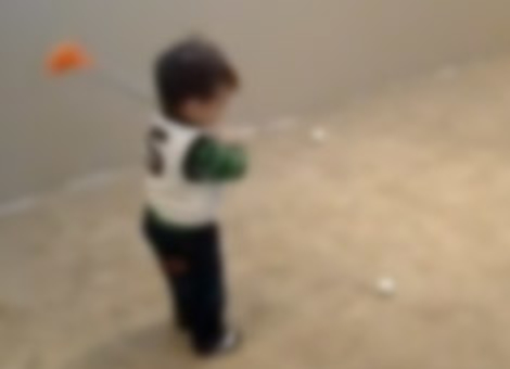 17-Month-Old Golf Prodigy