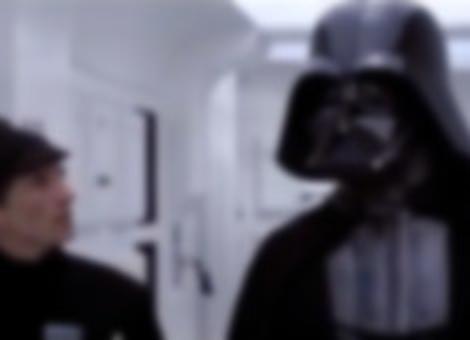 Hard of Hearing Vader