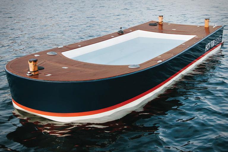 Hot Tub Boat