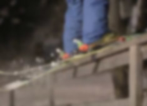 Parkour Skiing
