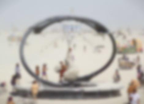 Tilt-Shift Burning Man