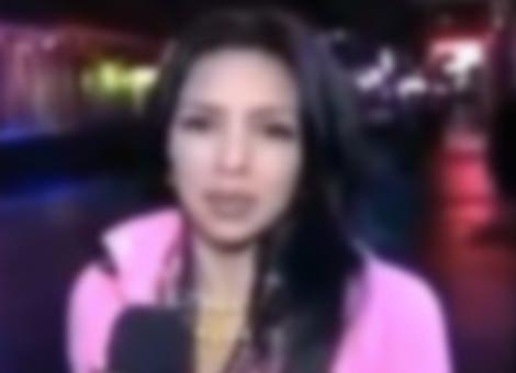 TV Reporter Gets Last Laugh