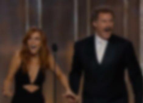 Will Ferrell and Kristen Wiig's Golden Globes Presentation
