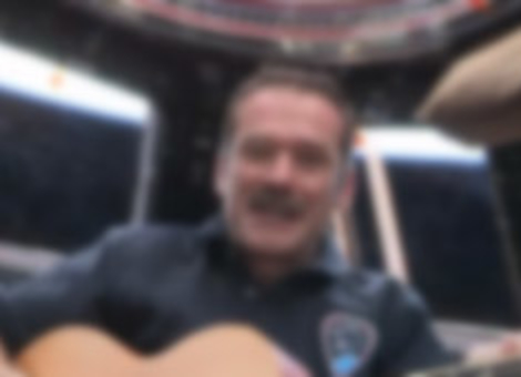 Astronaut Plays With Barenaked Ladies From Space