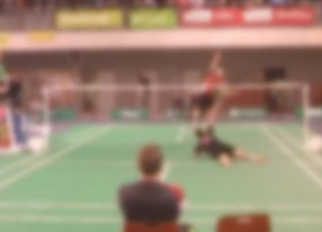 Greatest Badminton Shot Ever