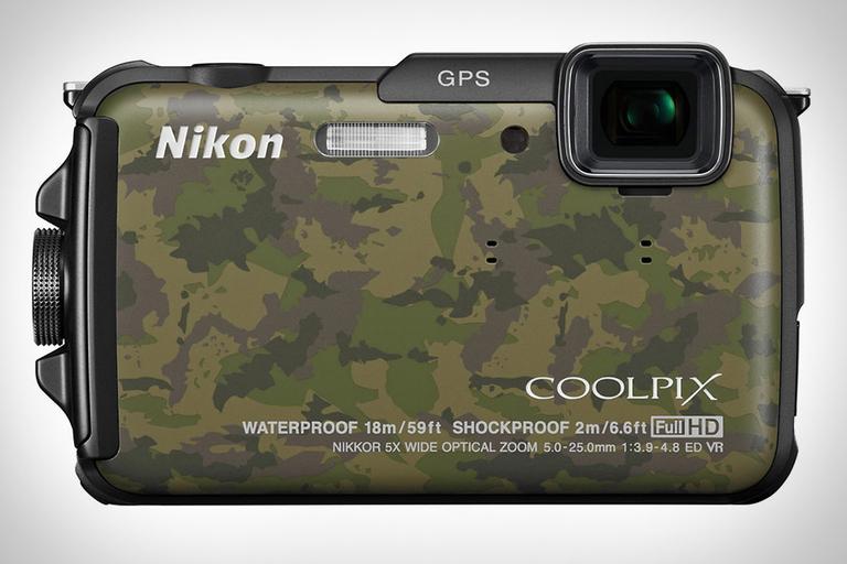 Nikon Coolpix AW110 Camo Camera