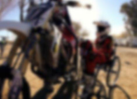 Paralyzed Motocross Rider - Darius Glover