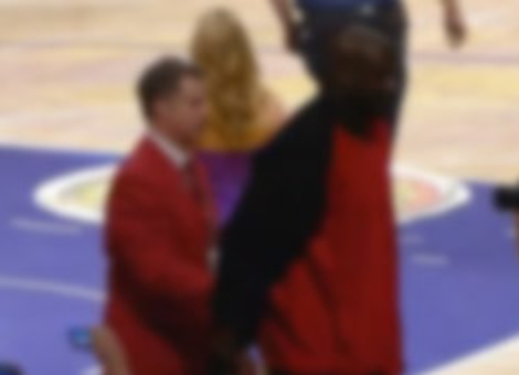 Will Ferrell Escorts Shaq Out Of Game