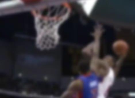 DeAndre Jordan's Monster Alley Oop Over Brandon Knight
