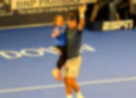 Little Girl Shows Up Rafael Nadal & Ben Stiller