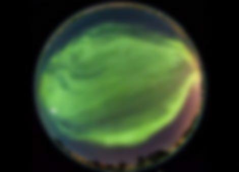 Mesmerizing Aurora Borealis Time-Lapse