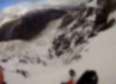 Mountain Climber's Terrifying Fall