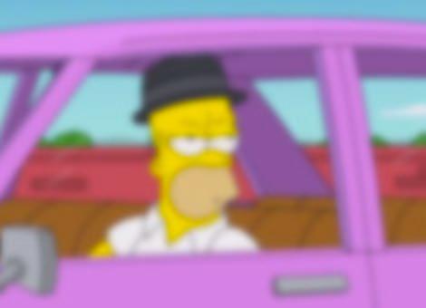 Breaking Bad Simpsons Opening