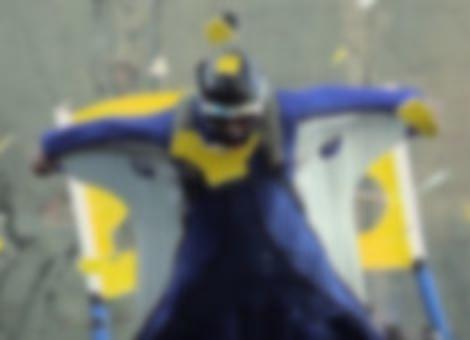 Insane Wingsuit Cave Flight